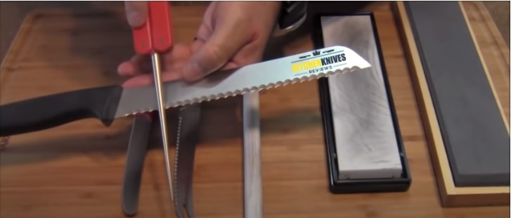 how to sharpen a serrated knife