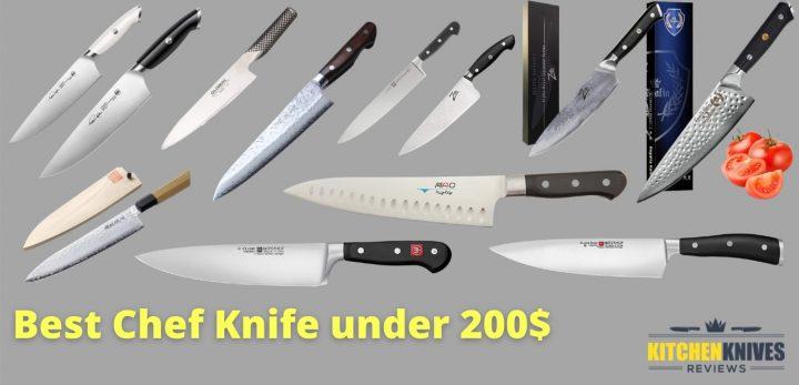 best chef knife under 200$