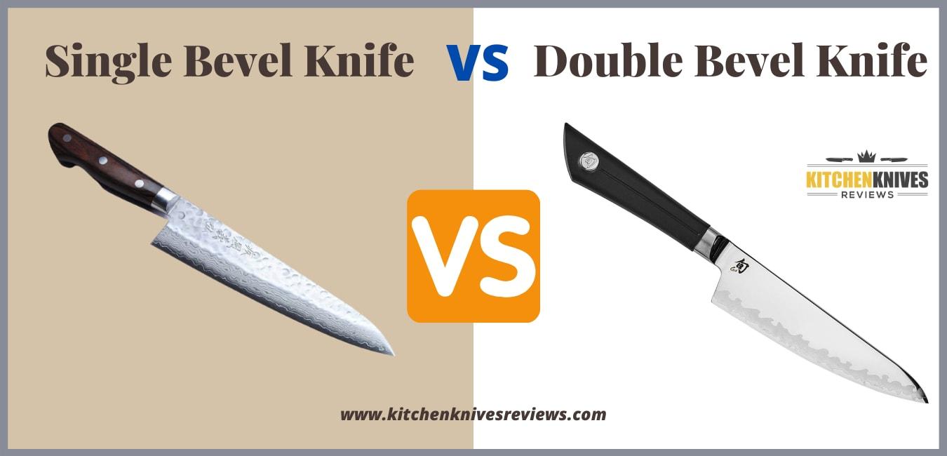 Single Bevel Knife vs Double Bevel Kitchen Knife Updated 2021